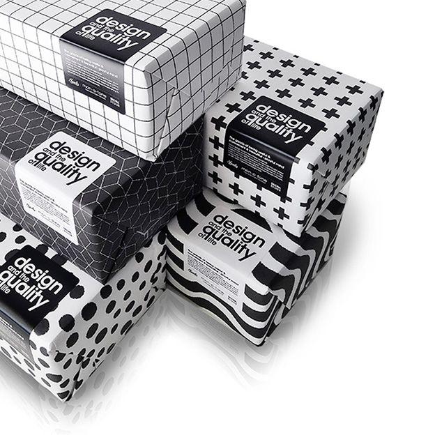 【楽天市場】マルチペーパー3【monotone モノトーン ラッピング 包装紙 白黒 ギフト プレゼント ブックカバー ランチョンマット パターン ポスター…
