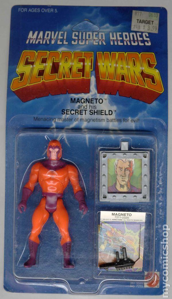 Marvel Super Heroes Secret Wars Action Figure (1984) ITEM#7211