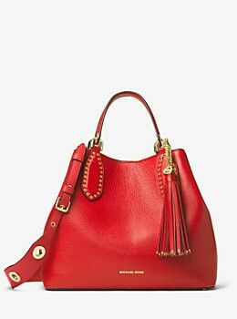 Michael Kors Brooklyn Large Leather Tote Shared by Career Path Design #michaelkors #watchmichaelkors #watches
