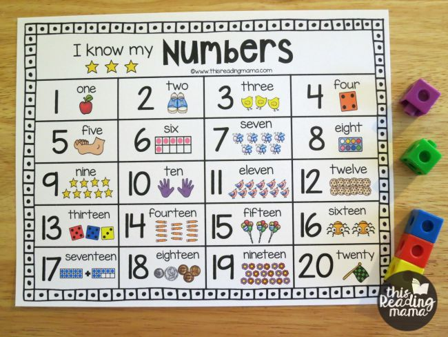 Dynamite image with free printable numbers 1-20