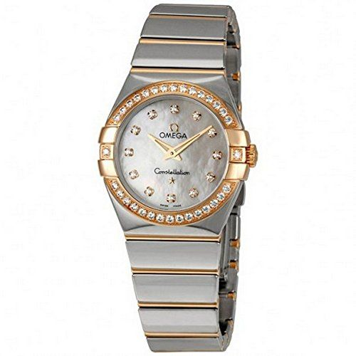 Omega Women's 12325276055005 Constellation White MOP Watch * Check out the i...