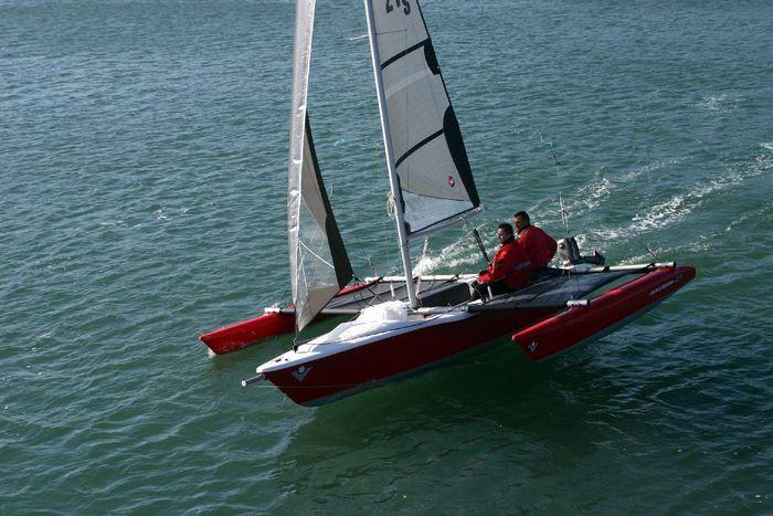 Trimaran Boat Design | Wooden Trimaran-pascalwilliam-b.jpg | Sailboats | Pinterest | Boats, Boat ...