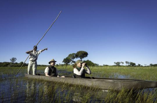 Mokoro Cruise at Tubu Tree Camp (Okavango Delta, Botswana). See our exclusive video here: https://www.youtube.com/watch?v=JiiSuRBmvZc&feature=youtu.be