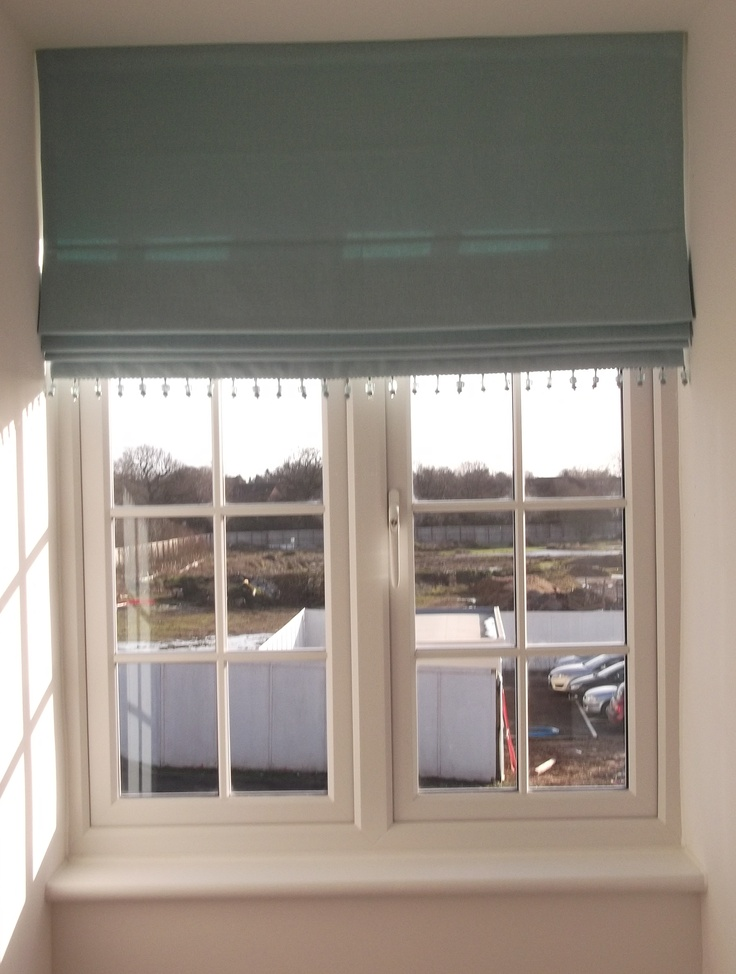 Blue Roman Blind With Beaded Trim Products I Love