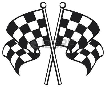 Checkered Flag Racing Checkered Flag Finishing Checkered Flag Checkered Flag Flag Vector Cross Flag