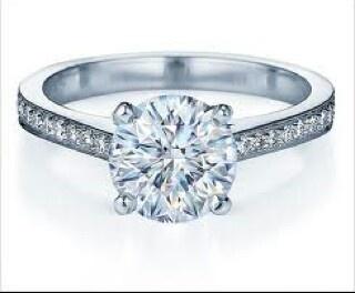 Spectacular  Carat Fancy Blue Diamond Engagement Ring k White Gold Vintage Style Fancy Color Engagement