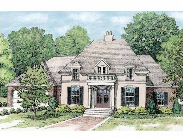 French country house plans house plan 2017 for Louisiana french country house plans