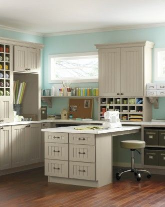 """See the """"Craft Room Creativity: Martha Stewart Living Seal Harbor Cabinets"""" in our  gallery"""