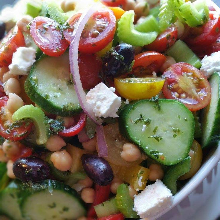 Chop Chop Greek Dressing Close up http://cleanfoodcrush.com/chop-chop