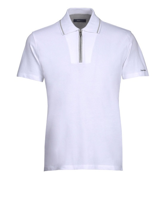 Short-sleeved polo Men - Polos & t-shirts Men on Zegna Online Store United States