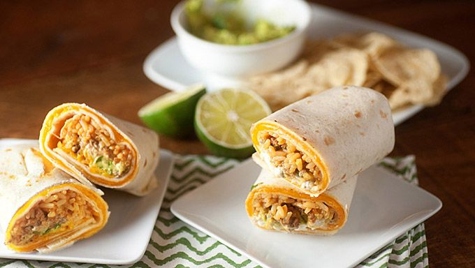 Copycat Quesarito: Replace beef with chicken and guac with chipotle ranch