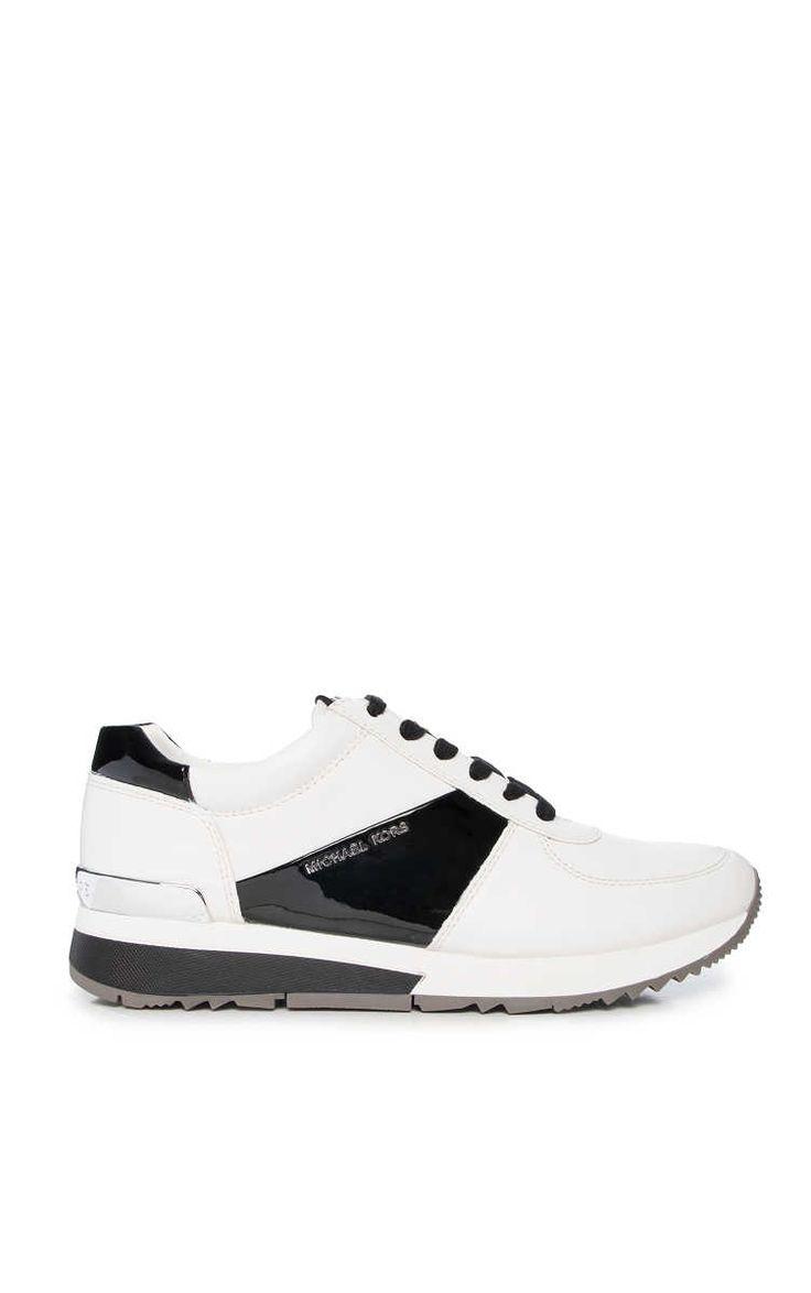 Sneakers Allie Trainer WHITE/BLACK - Michael - Michael Kors - Designers - Raglady