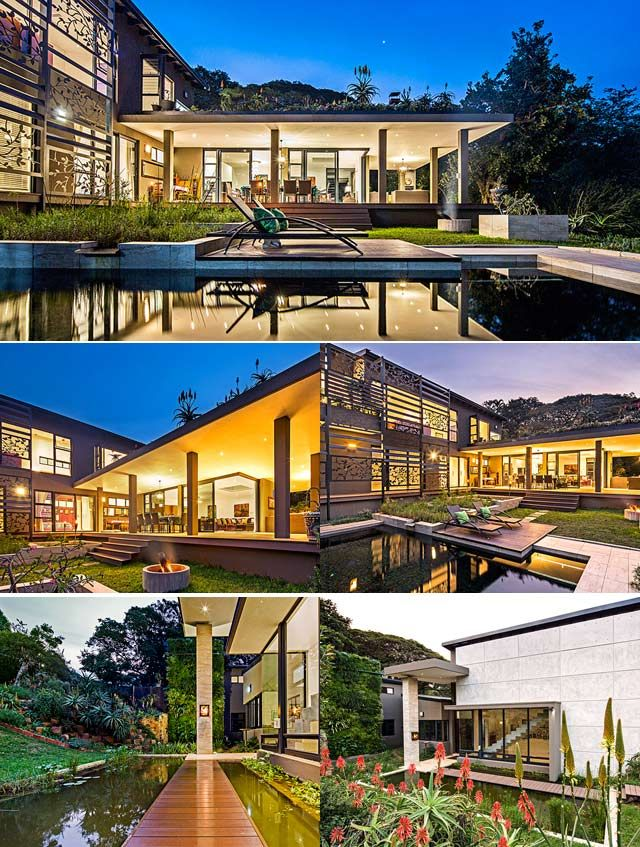 A gorgeous eco house in Durban, which is the culmination of one couple's desire to 'live more gently on the planet'.