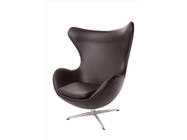 Arne Jacobsen, Ægget, 3316, Nyt æg i sort skind, vip og