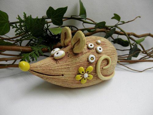 Keramická myš