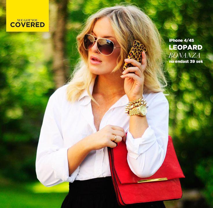 Leopard inspo med My Blomquist   #mobilskal #inspo #fashion   www.my.metromode.se