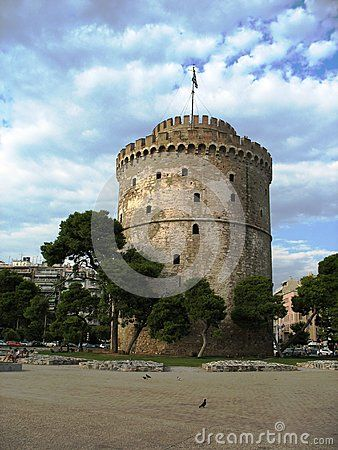 The White Tower is the simbol of Salonic.