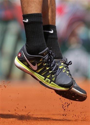 Switzerland's Roger Federer's Vapor 9