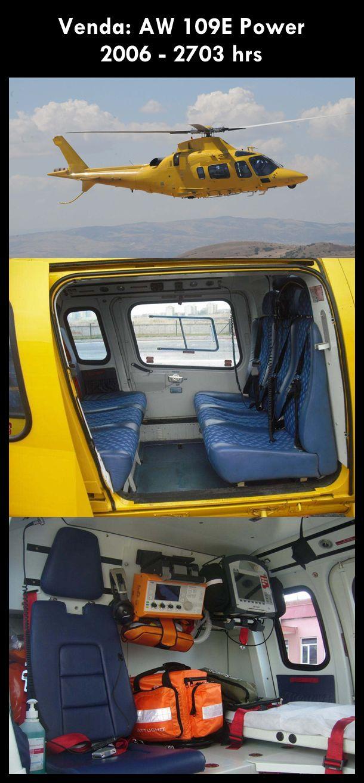 Aeronave à venda: Agusta Westland AW 109E Power, 2006, 2703 hrs. #agusta #agustawestland #aw109epower #agustapower #airsoftanv #a109epower #aircraftforsale #aeronaveavenda #pilot #piloto #helicoptero #aviation #aviacao #heli #helicopterforsale #heliforsale www.airsoftaeronaves.com.br/H220