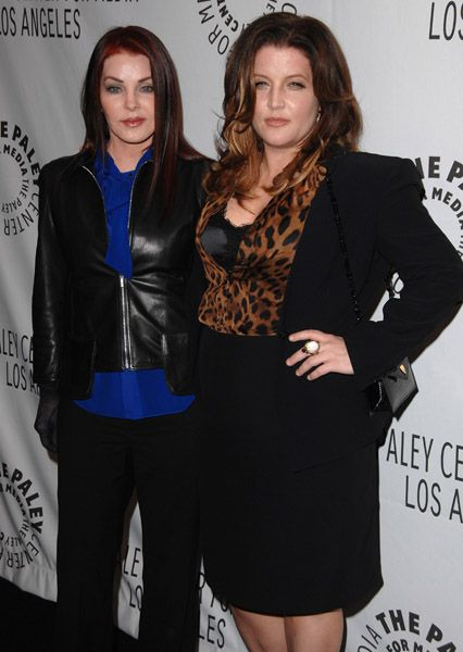 Priscilla Presley and daughter Lisa Marie Presley Didn't know she got that big
