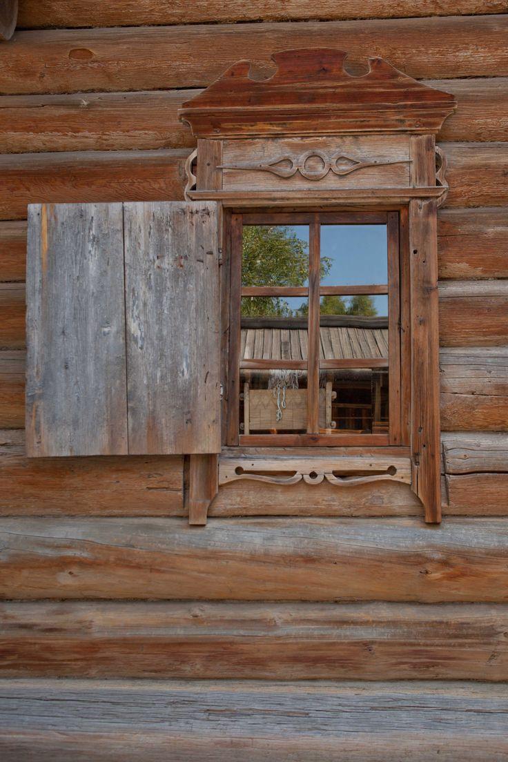 Дом в музее под открытым небом Тальцах.