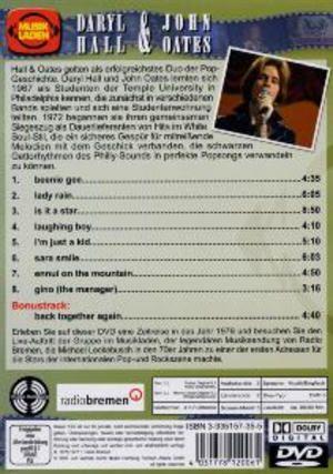Musikladen DVD back
