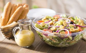Need lunch catering for a meeting or event? Try our Garden-Fresh Salad from Olive Garden Italian Restaurant!