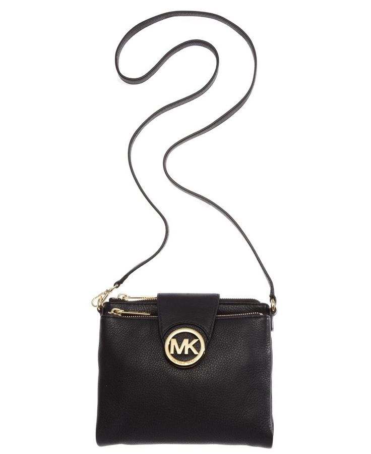 0b998926dfa2 MICHAEL Michael Kors Fulton Large Crossbody - Handbags Accessories - Macys  Black and ...