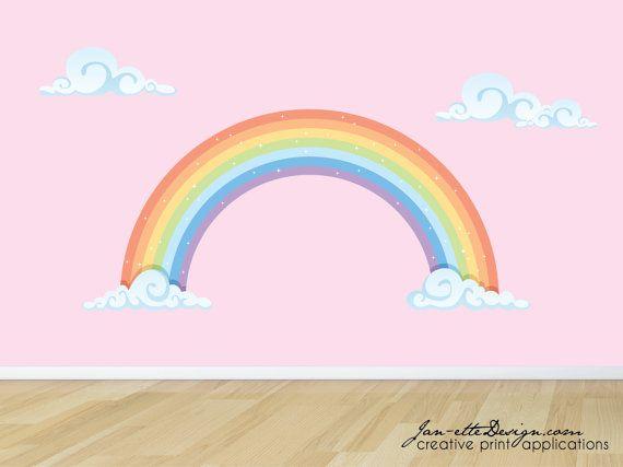 Rainbow Wall Decor Stickers : Best rainbow wall ideas on room