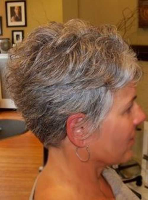 Short Haircuts For Grey Hair Styles In 2018 Pinterest And Cuts