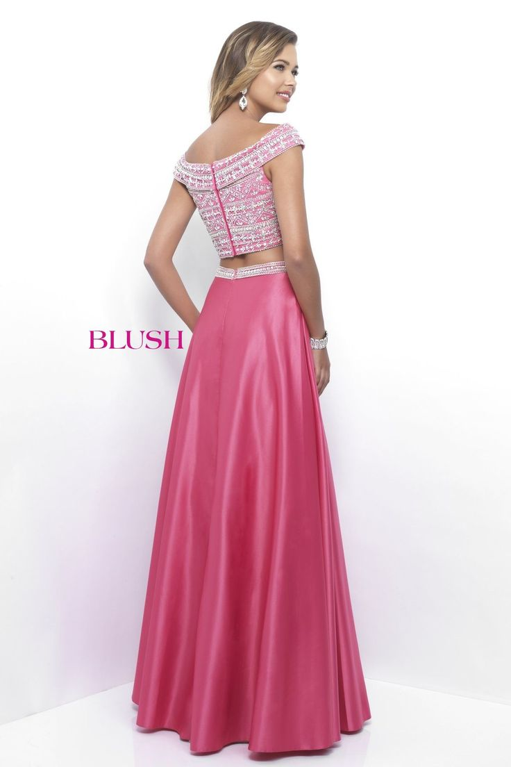 23 best Blush prom gowns images on Pinterest | Prom dresses, Quince ...