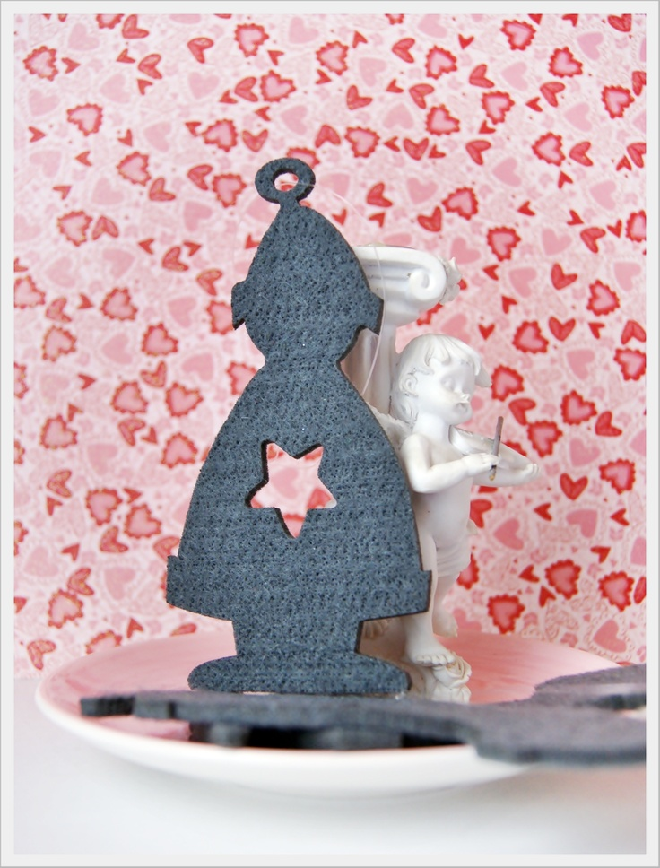 Figurine Fetru Silueta de lollyrot Breslo
