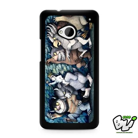 Where The Wild Things Are HTC G21,HTC ONE X,HTC ONE S,HTC ONE M7,HTC M8,HTC M8 Mini,HTC M9,HTC M9 Plus,HTC Desire Case
