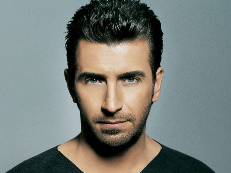 Thanos Petrelis, my favorite Greek singer and always will be. His voice makes me melt.