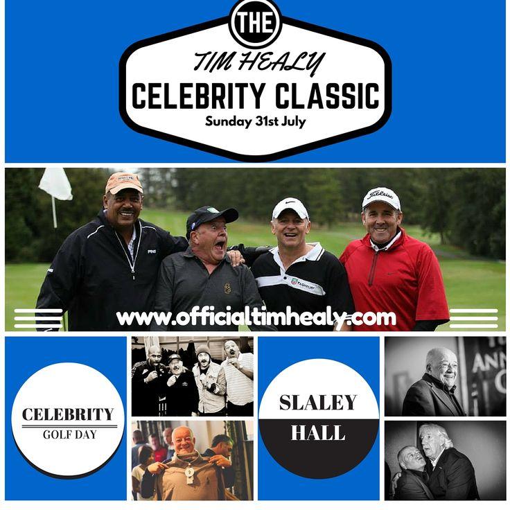 Tim Healy Celebrity Classic Golf Day At Slaley Hall on Sunday 31st July 2016