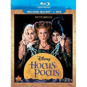 Hocus Pocus [Blu-ray + DVD]: Amazon.ca: Bette Midler, Sarah Jessica Parker, Kathy Najimy: DVD 14.83$