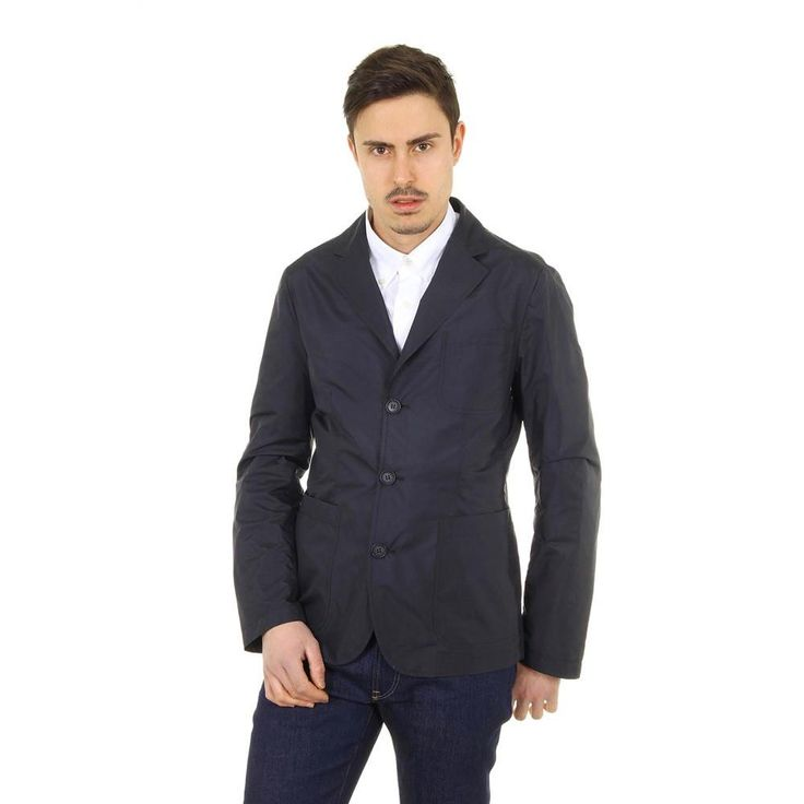 Dark Blue 46 IT - 46 US Giorgio Armani mens jacket RSG02W RS942 918