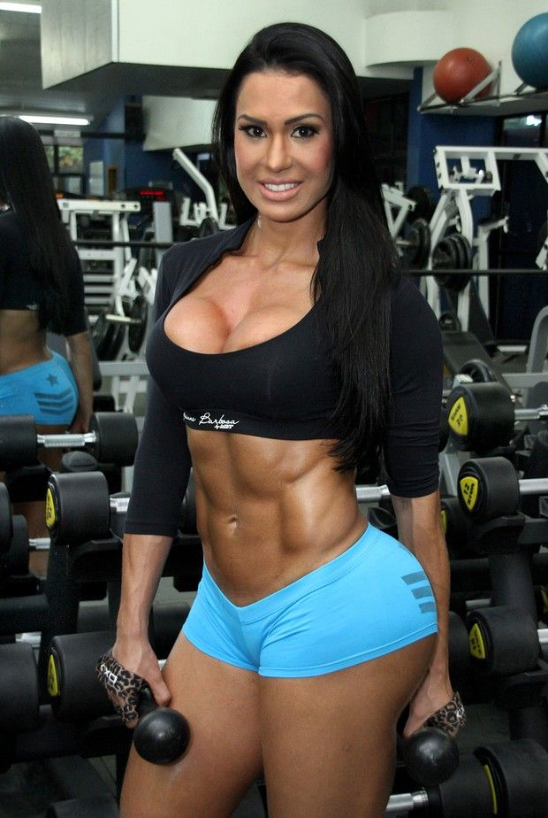 Brazilian fitness model Gracyanne Barbosa is definitely an inspiration. Her workout regime is brutal but clearly worth it.