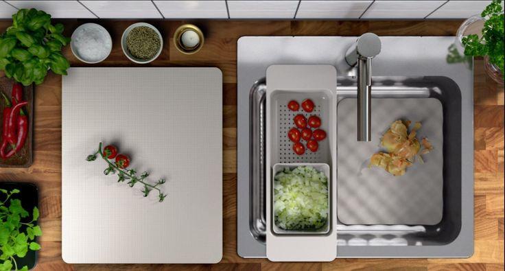 Produsele din familia GRUNDVATTNET sunt gata oricând să te ajute în bucătărie.