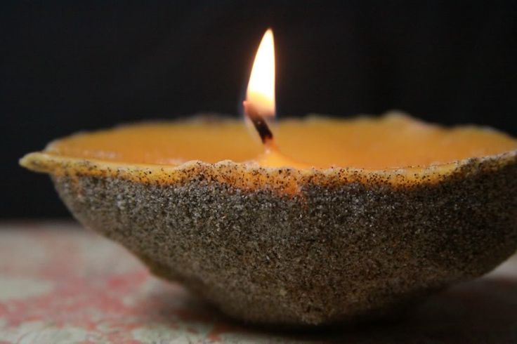 Sand Candles- Summer Craft - A Sparkle of Genius