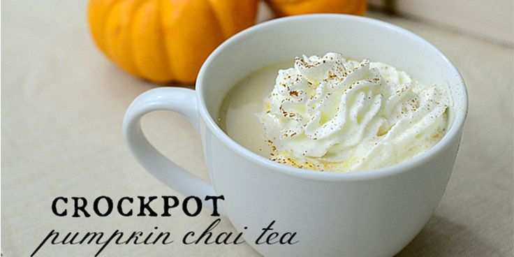 Crockpot Pumpkin Chai Tea http://getdailyrecipes.com/2014/09/15/crockpot-pumpkin-chai-tea-starbucks-inspired/