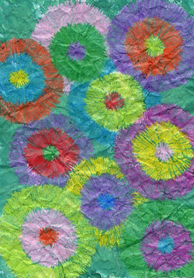 Batik papercraft