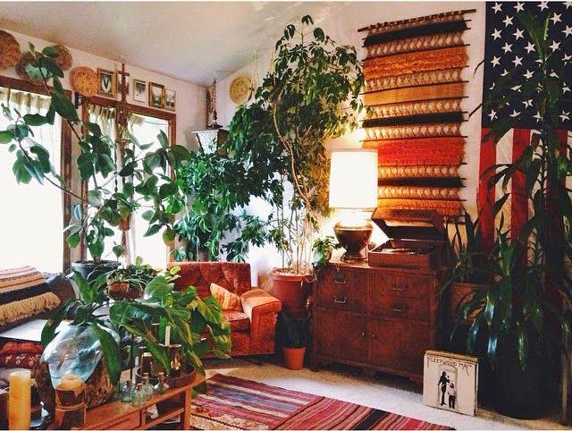 ramblinstarr+bohemian+home+house+plant+fleetwood+mac+nest.jpg 640×482 pixels