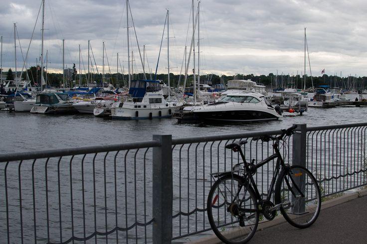 Biking at Bayfront #HamOnt