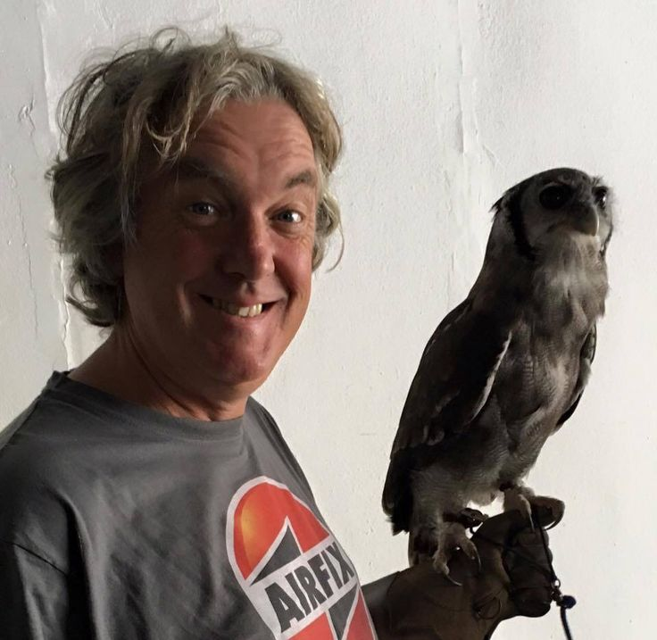 James May and friend.
