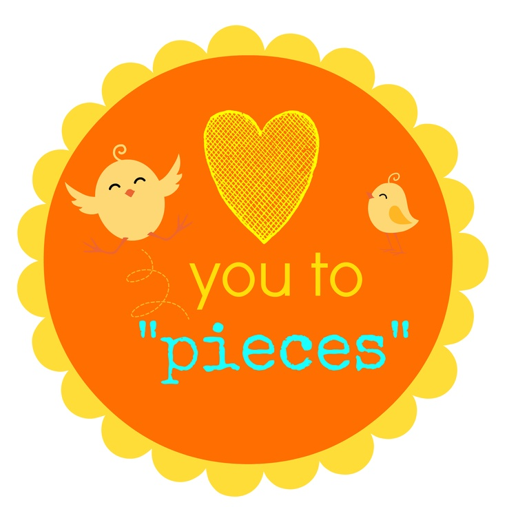 Gutsy image throughout love you to pieces printable