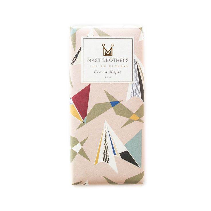 Mast Brothers Crown Maple Chocolate Bar #mastbrothers #chocolatebar #crownmaple #brooklyn