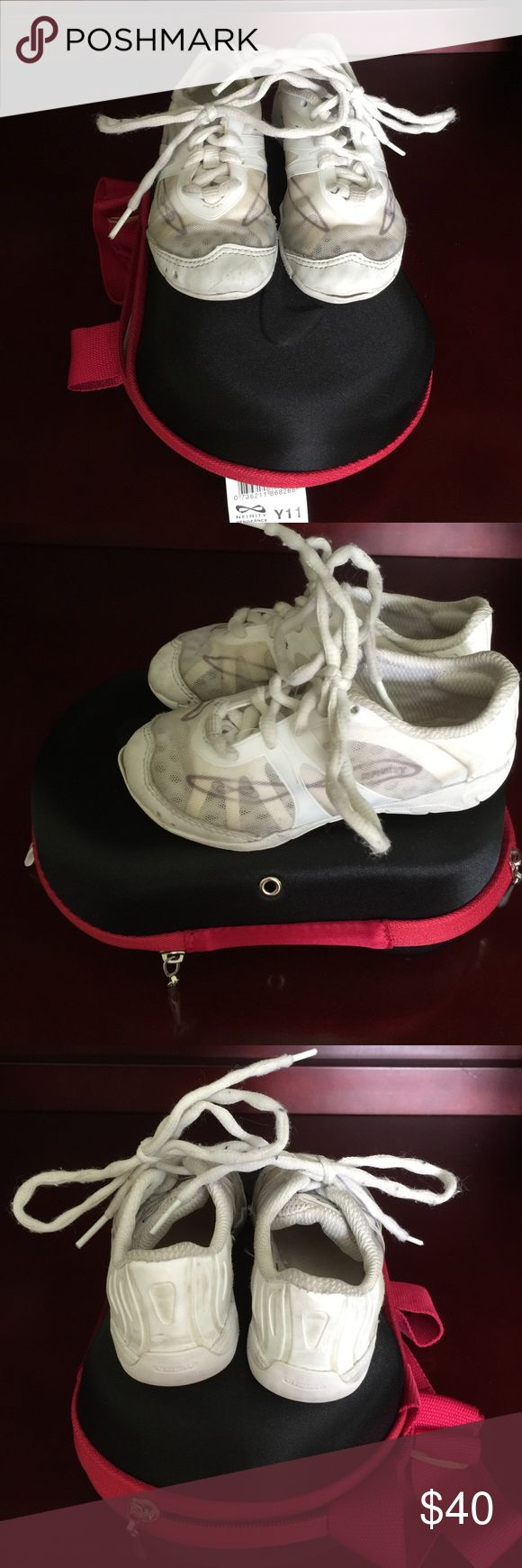 Nfinity vengeance size 11 youth cheer shoe Nfinity vengeance cheer shoe size 11 youth. Some normal wear and tear but still a ton of life left in them. Paid 85$ new. Looking for 40$ Nfinity Shoes Athletic Shoes
