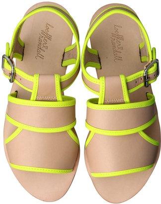 Sandal from Loeffler Randall / ShopStyle: レフラーランドール バイカラーパイピングフラットサンダル