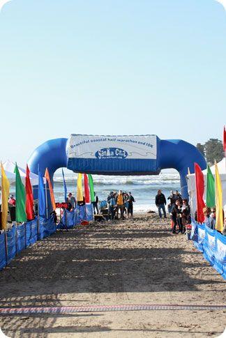 Santa Cruz Half Marathon  - my first half. Not running it this year but I love it!